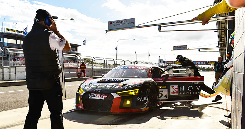 Novati-Constructions-and-PARISI-Audi-R8-LMS-Bathurst-12-hour-Nathan-Antunes