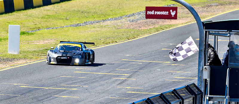 Nathan-Antunes-Greg-Taylor-chequered-flag-Australian-Endurance-Championship-Sydney