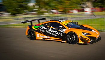 Ready for Round 3 Australian GT at Barbagallo Raceway in Perth