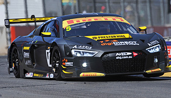 digiDIRECT get on board with Nathan on the Audi R8 LMS